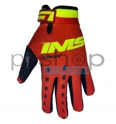 IMS ARMY Red/Fluo Gloves