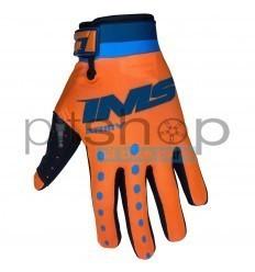 IMS ARMY Orange/Blue Gloves