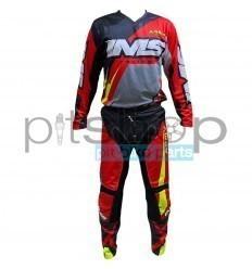 2022 Youth Red/Grey/Black IMS Army Gear Set