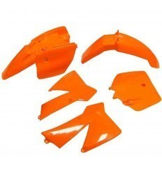 Orange KTM SX 50cc Plastics